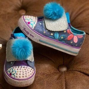 sketches Pom light up shoes